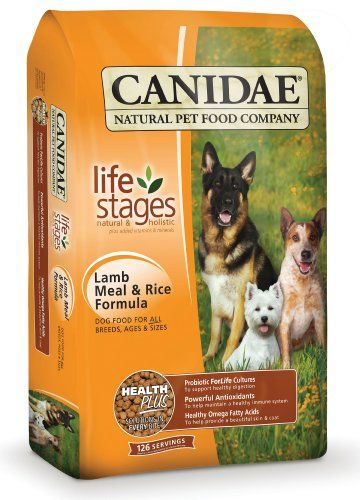 CANIDAE Life Stages Dry dog food for sensitive stomachs