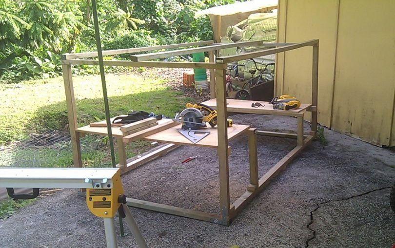 A dog's abode: how to build a dog kennel