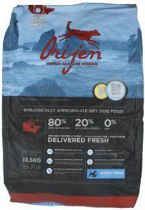 orijen grain free dog feed for pitbull