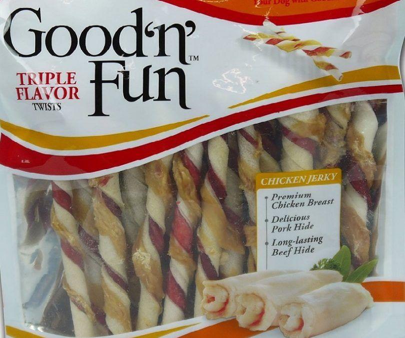 Healthy Hide Good `n` Fun 22-Pack Triple Flavor Chews