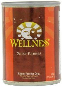 wellness senior dog formula