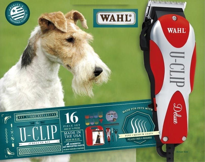 Wahl U-Clip Deluxe Home pet grooming kit