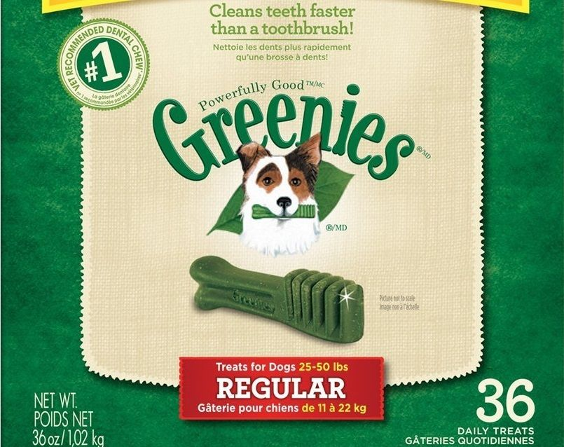 GREENIES Dental Chews Regular Treats for Dogs