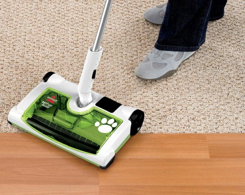 Bissell pet hair eraser rechargeable sweeper