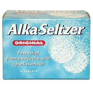 Can I give my dog alka seltzer?