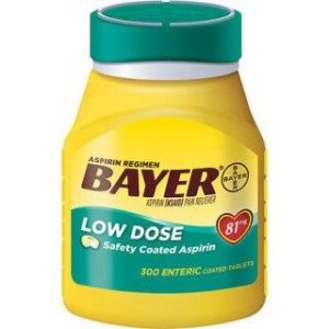 Can I give my dog baby aspirin?