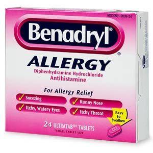 Can I give my dog benadryl?