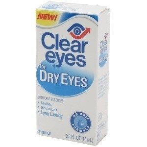 Can I give my dog clear eyes?