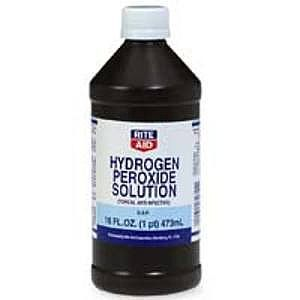 Can I give my dog hydrogen peroxide?