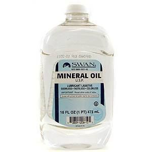 Can I give my dog mineral oil?
