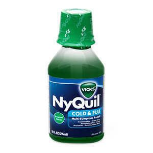 Can I give my dog nyquil?