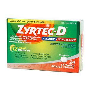 Can I give my dog zyrtec?