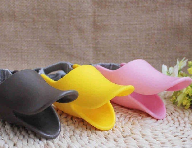 Pecute Pet Protection Dog Silicone Duck Bill Design