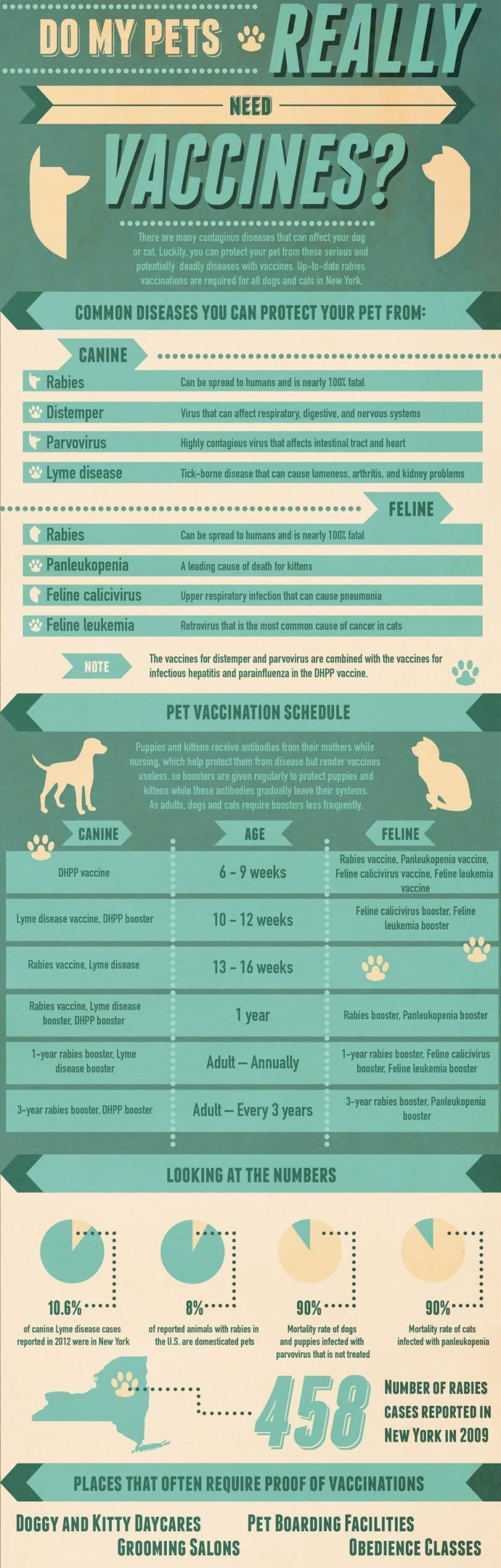 Do my pets really need vaccines