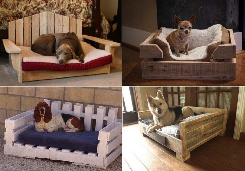 Homemade dog beds