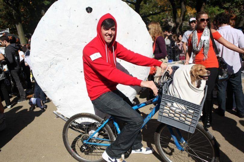E.T. dog costume