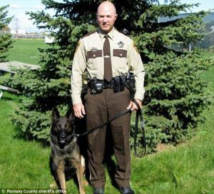 "Dog-abusing cop returns to work for ""another chance"" as a police officer"
