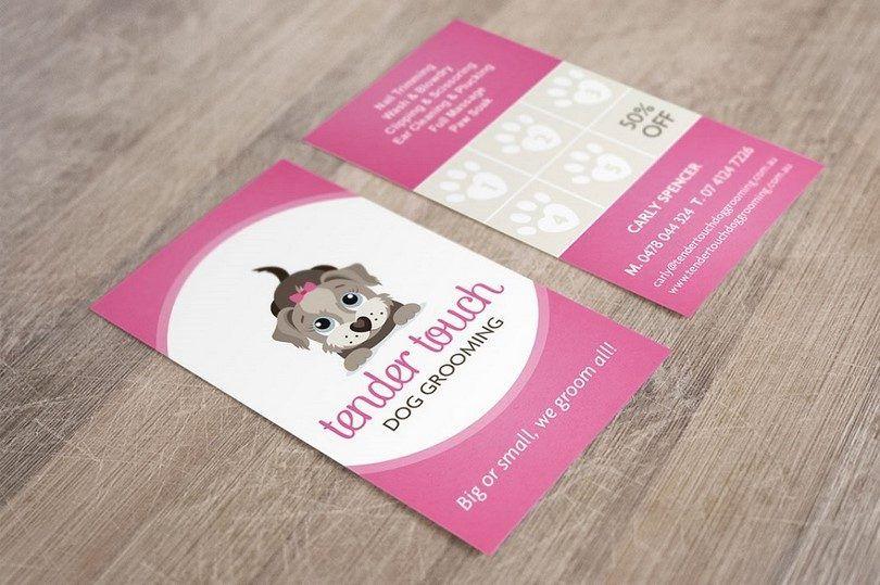 Grooming card