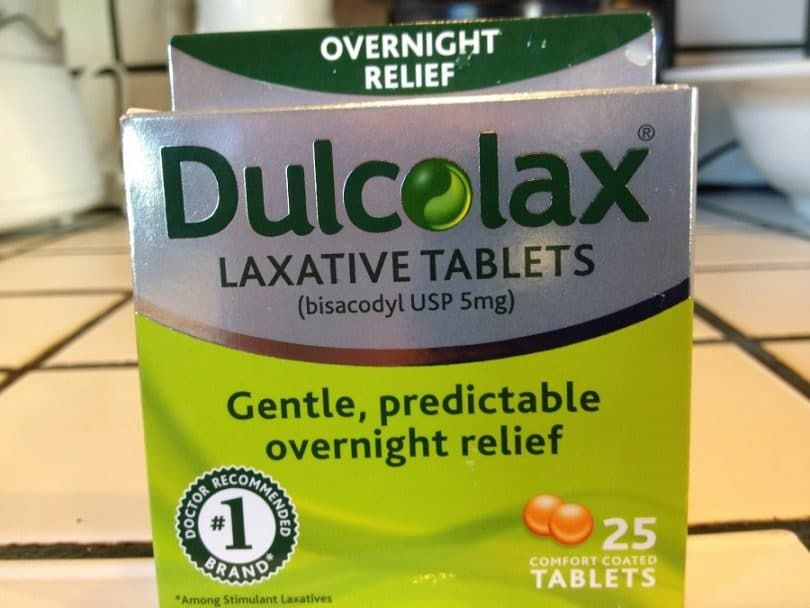 Laxative for humans