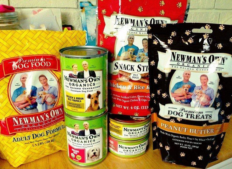 Newman`s own adult dog food formula