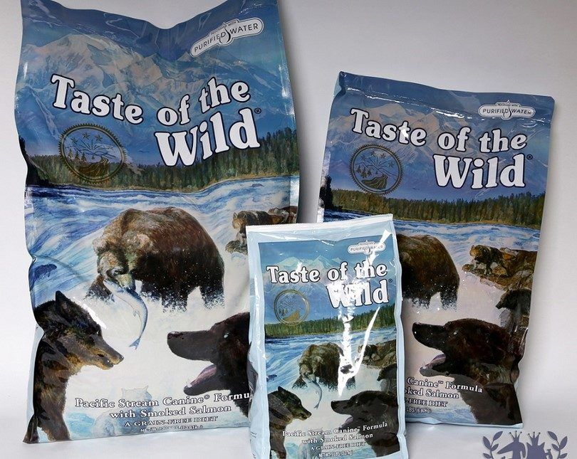 Taste of the wild dry dog food Pacific stream