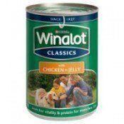 A tin of winalot dog food