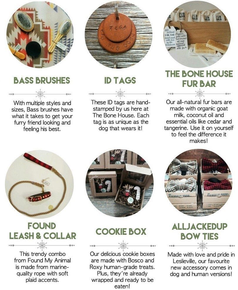 Dog gifts infographic