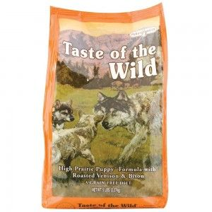 taste of the wild grain free puppy food