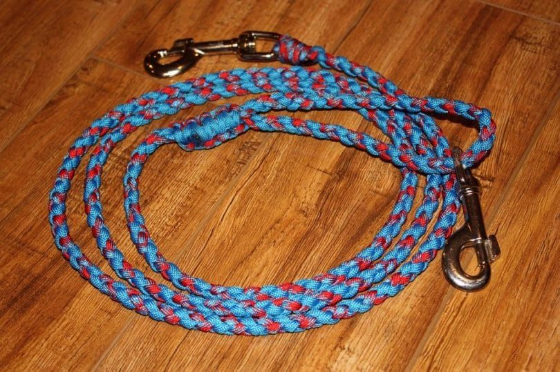 Dog leash finished