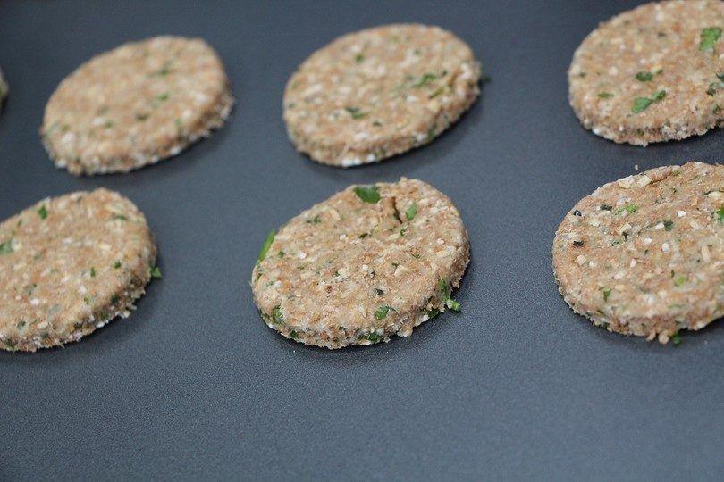 Minty buckwheat treats