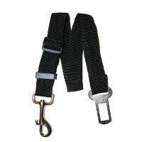 A seat belt safety leash