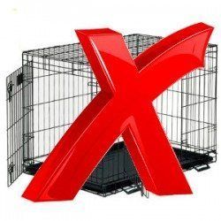 When not to use a crate - Big red cross over a crate