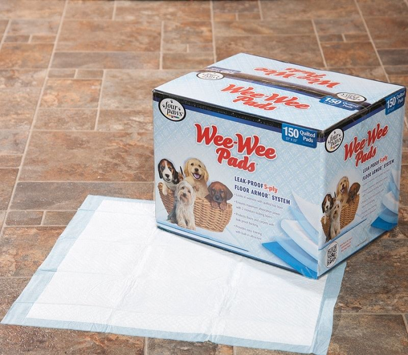 Training pads for toy breeds