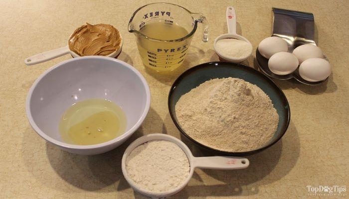 Recipe: peanut butter dog treats