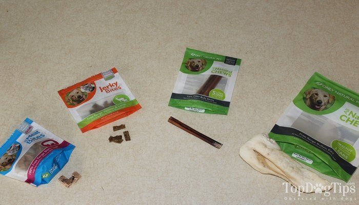 Review: only natural pet dog treats and chews