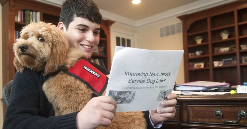 Reading Service Dogs laws