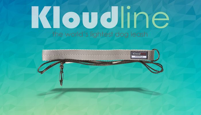 This leash is as light as a 'kloud'
