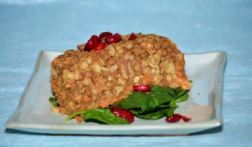 Lentil and Barley loaf