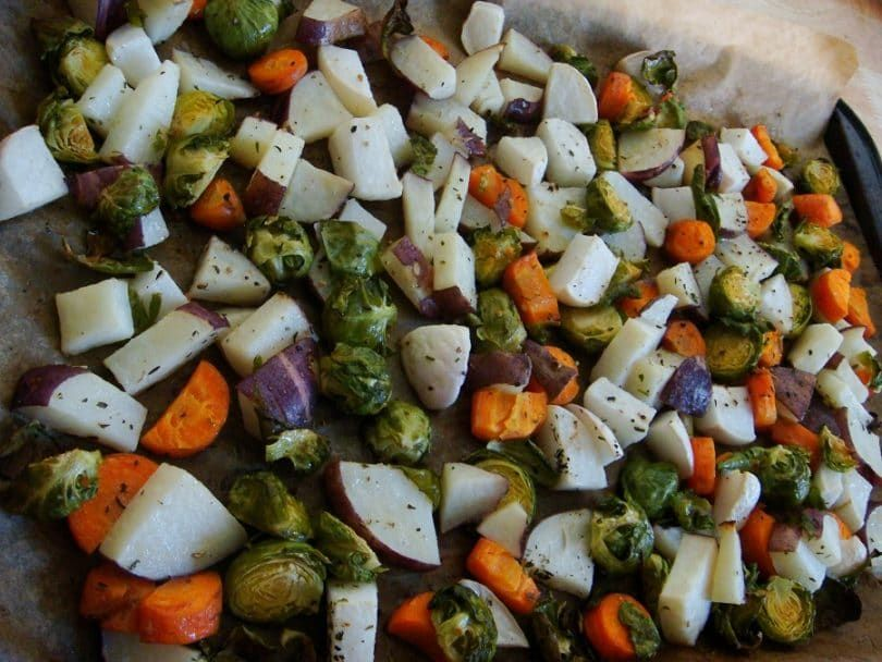 Vegetable Medley for puppies