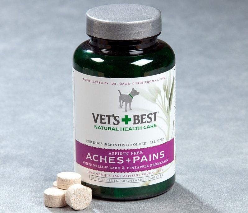 Vet`s Best Aspirin Free Aches & Pains Formula Chewable Tablets