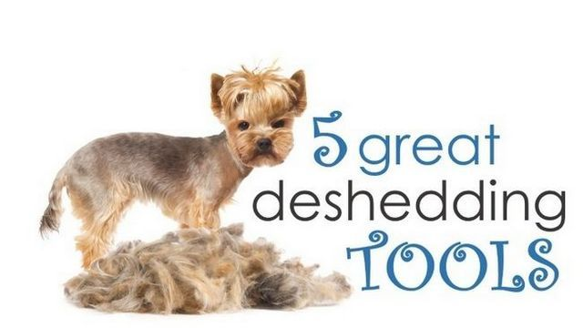 What is the best deshedding tool for dogs?